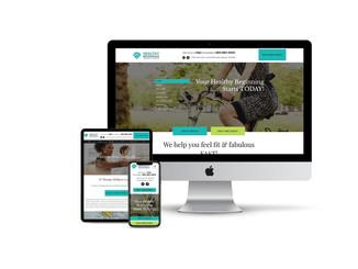 Website Design for Wellness Center