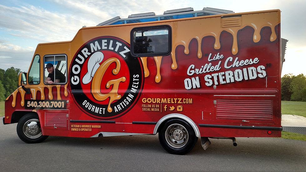 Gourmeltz Cheese Melts Restaurant Fredericksburg VA