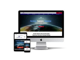 Website Design for Aerospace Engineering Firm