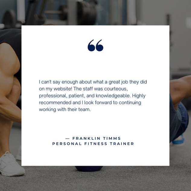 Personal Trainer Client