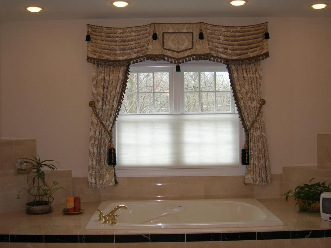 Valances for a Bathroom