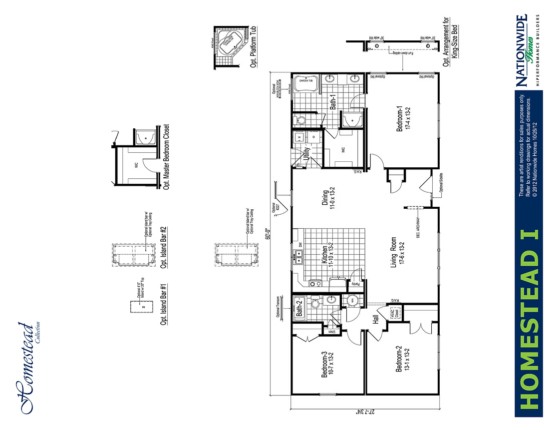 Dameron Companies Homestead Floorplan