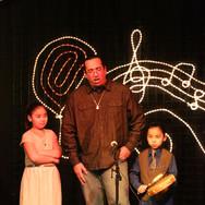 Leo Gunner Baker With His Children