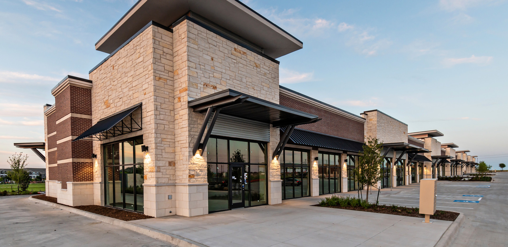 Prosper Shops at 380 | Frank Dale Construction