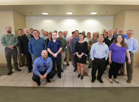 Aerodyne Industries hosts quarterly luncheon for IRES/Schriever team in Colorado Springs