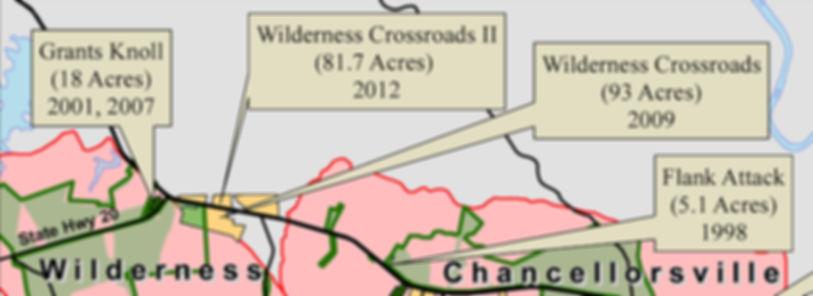Wilderness Battlefields