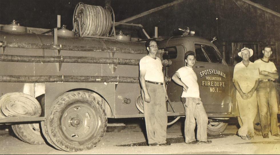 History Spotsylvania Volunteer Fire Department