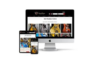 Bi-Lingual Website Design for Specialty Shop