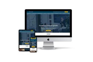 Website Design for Executive Business Coach