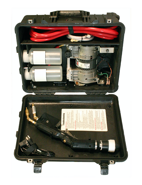 SC-EB Electric Electrostatic Disinfecting Sprayer in a Suitcase