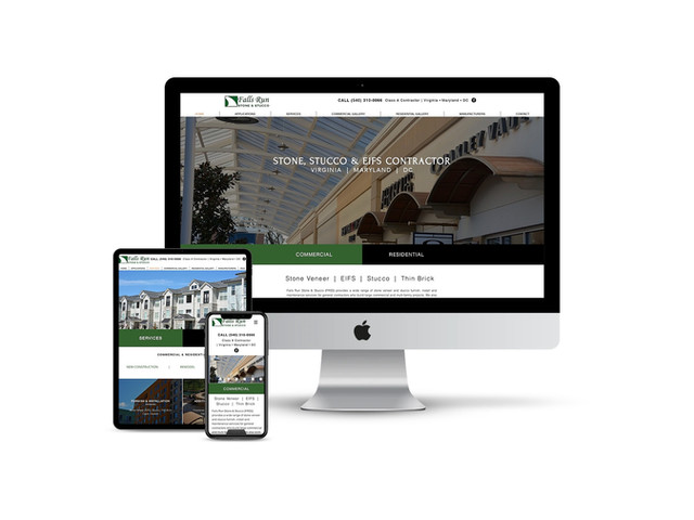 Website Design for Stone Contractor