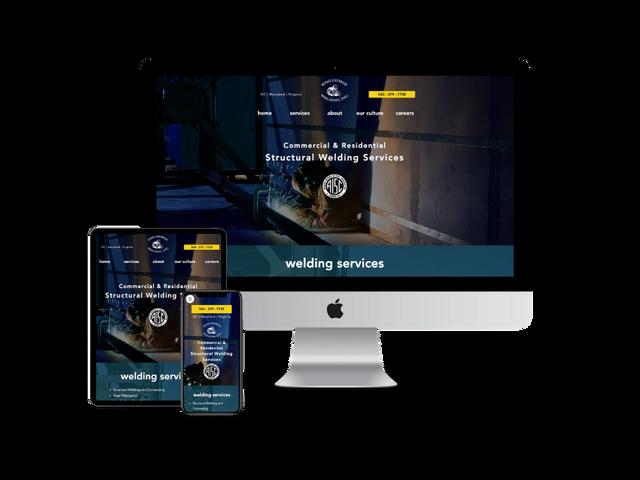 Website Design for Welding Company