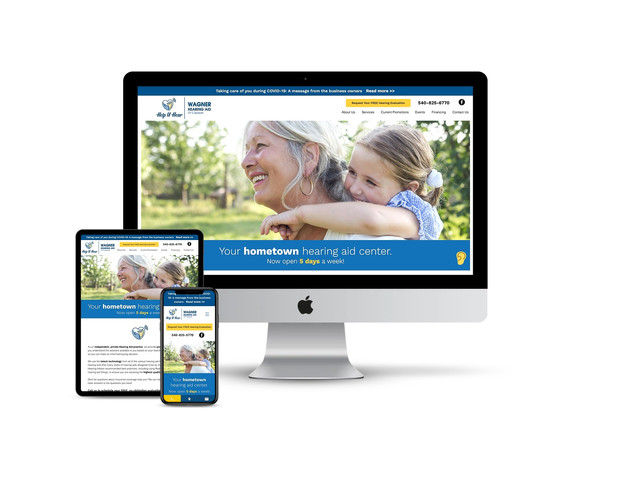 Website Design for Hearing Aid Center