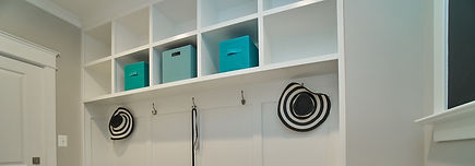 custom mud and laundry rooms