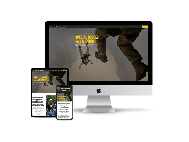 Website Design for Special Forces Association