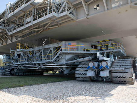 Aerodyne employee awarded for work on Crawler