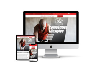 Website Design for Personal Trainer