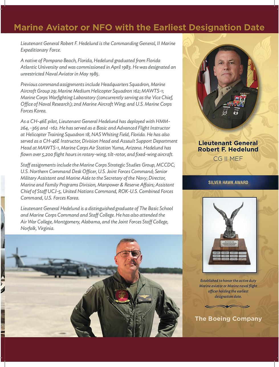 2019 Silver hawk award