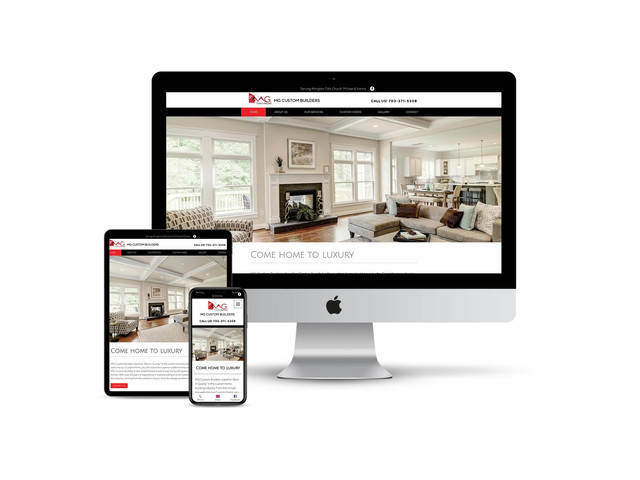 Website Design for Home Builder