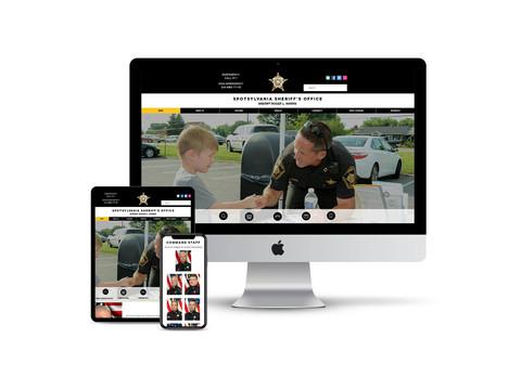 Website for Sheriff's Office