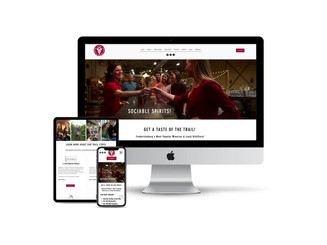 Website Design for Winery & Distillery Tour