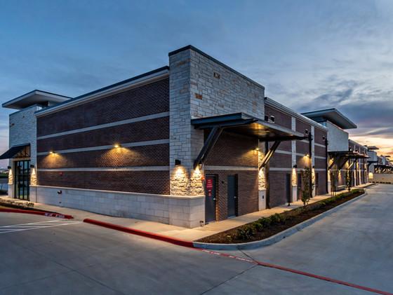 Prosper Shops at 380 | Frank Dale Construction