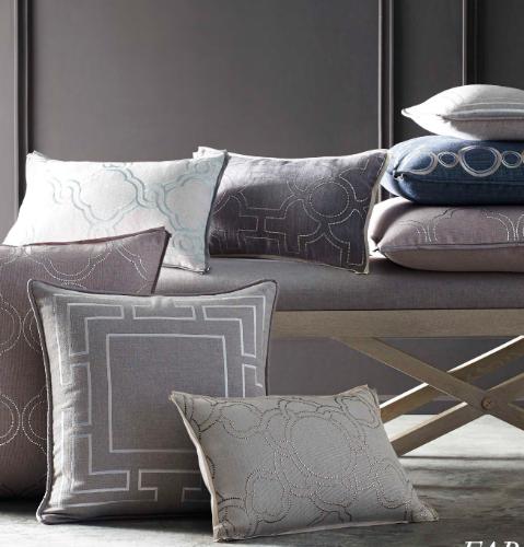 Decorative Accent Pillows. Courtesy of Kravet