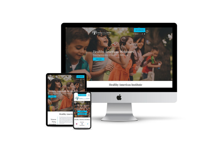 Website Design for National Health Association