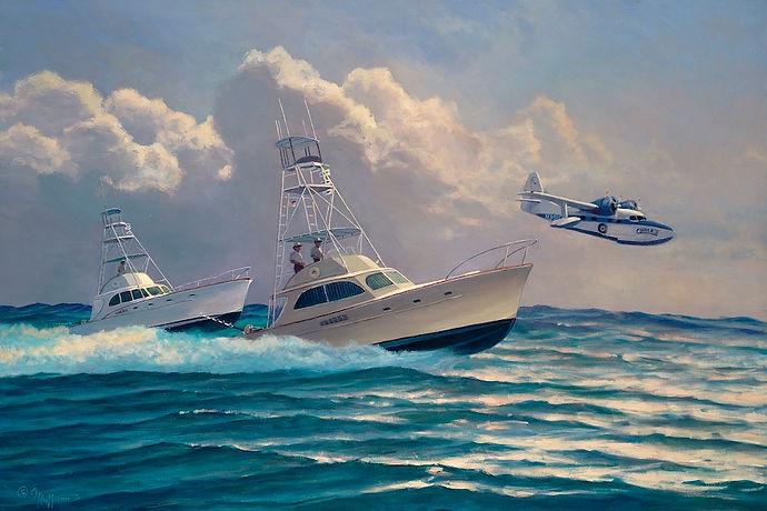 yacht portraits fine art