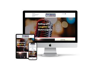Website Design for Comedy Club