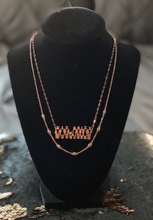 Necklace Duo - Rose Gold