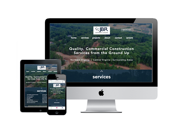 JBR Construction Website Design