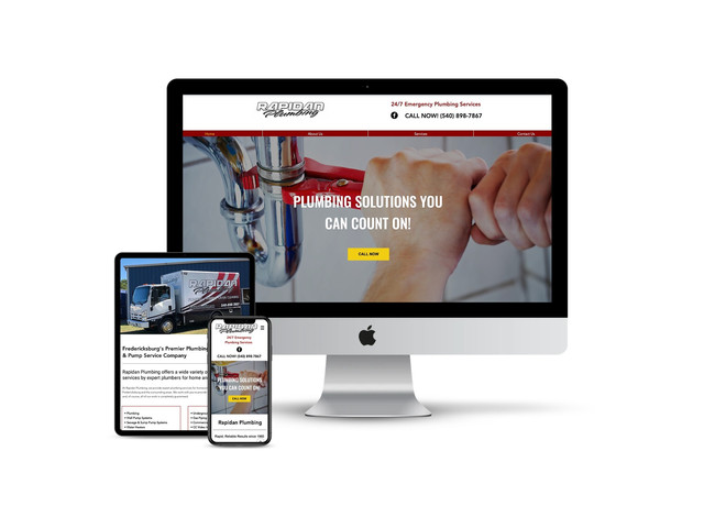 Website Design for Plumbing Company