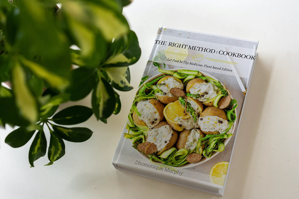 The Right Method Cookbook