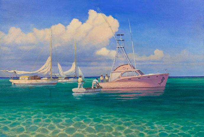 Fine Art Marine Artist Portraits