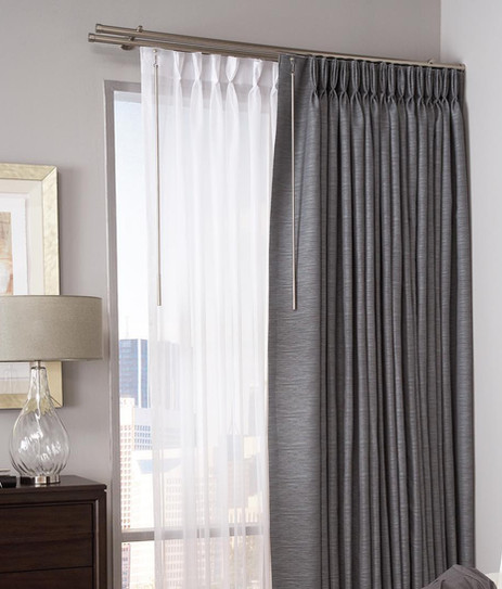 Sheers with Drapery
