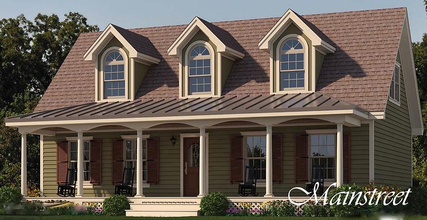 Dameron Companies Traditon Cape Model Home