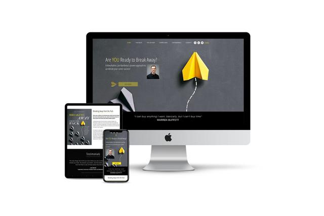 Website Design for Author