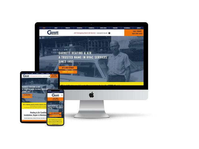 Website Design for HVAC Company