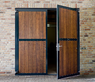 exterior shutters and doors for horse stables and barns