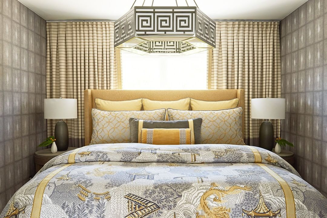 Custom Bedding made with Designer Fabrics