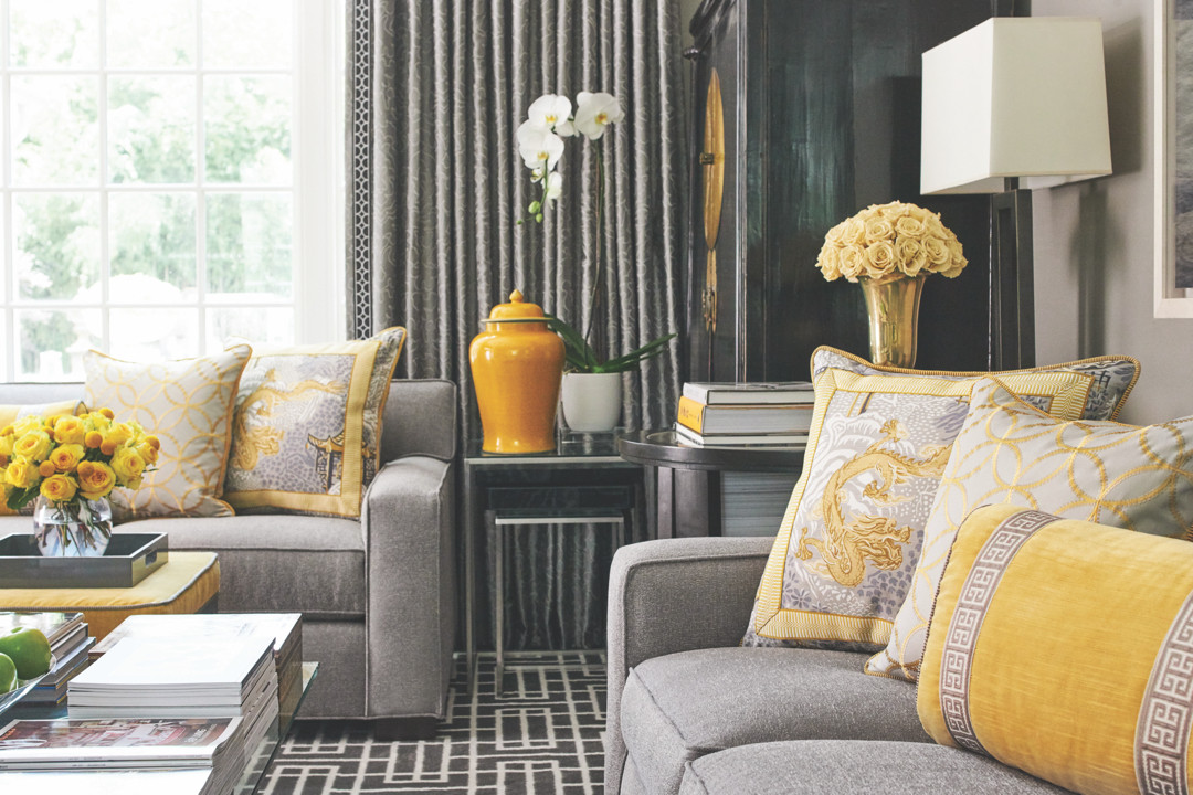 Accent Pillows in Different Sizes