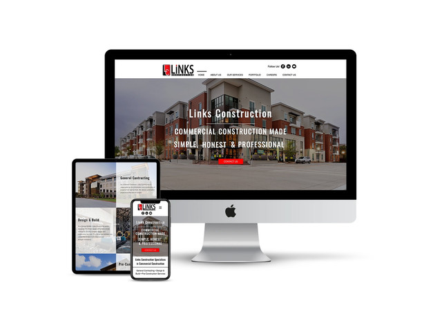 Website Design for Commercial Construction Contractor