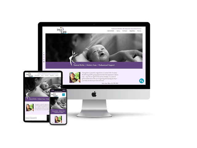 Website Design for Midwifery Center