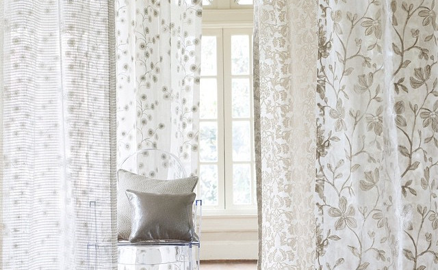 Sheers with Prints and Embroidery