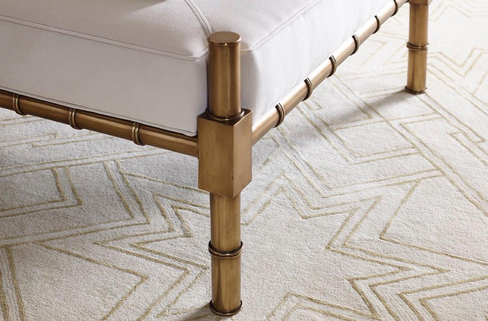 Hand Woven Rug. Courtesy of Kravet