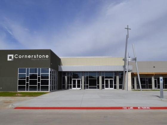 Cornerstone Baptist Church | Frank Dale Construction