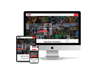 Website Design for Sports Foundation