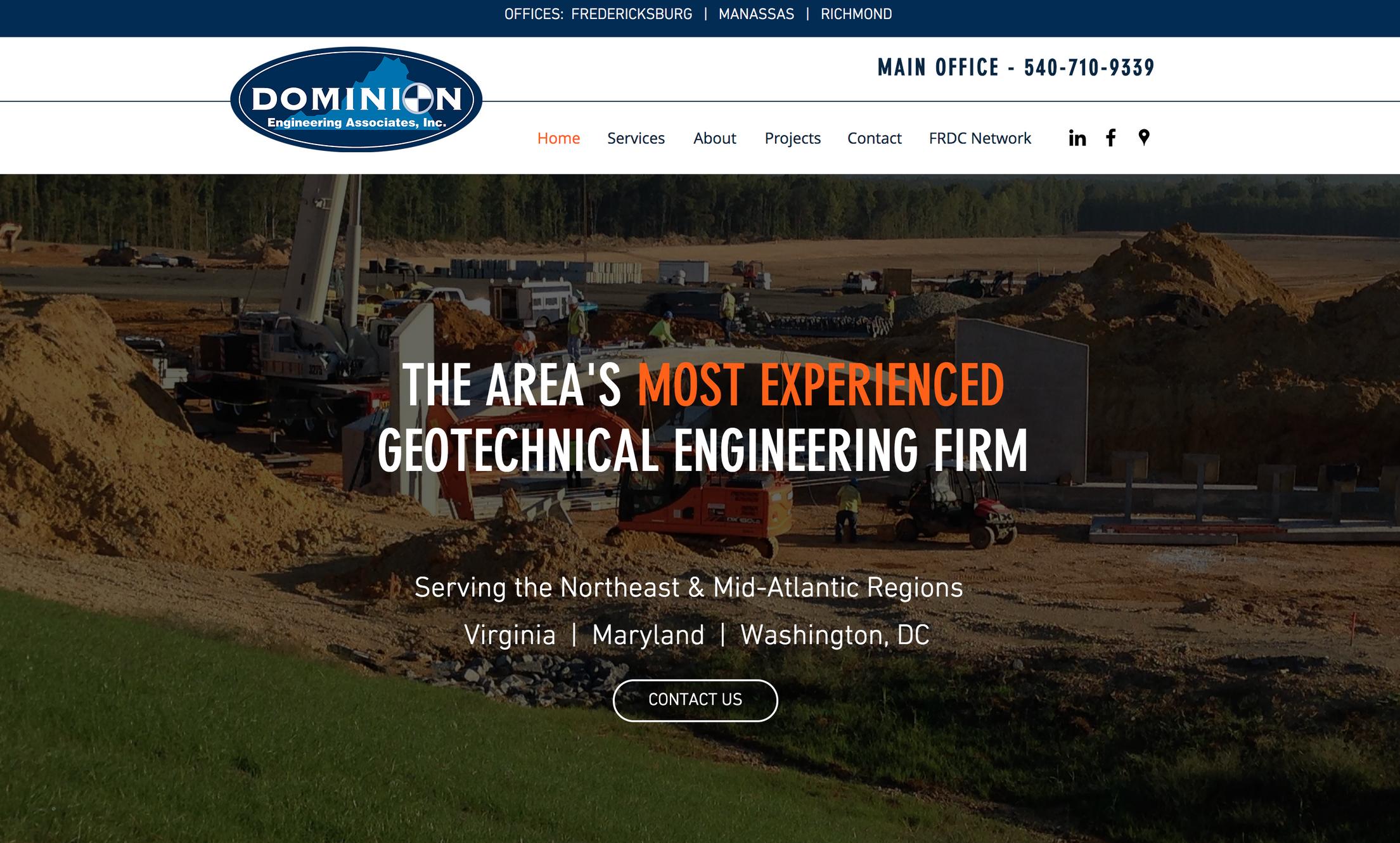 Home Dominion Engineering Associates Inc Fredericksburg Va