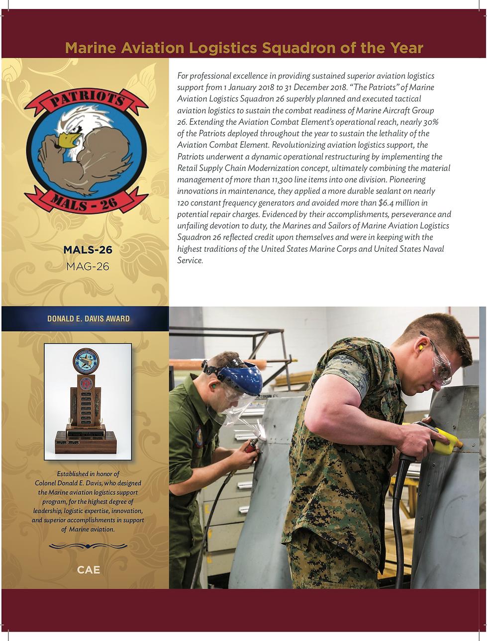 2019 Donald E. Davis Award